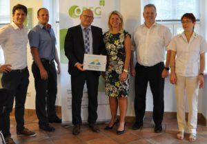 Landrat erwartet positive Impulse für Wirtschaft im südlichen Odenwald