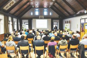 Stadt Oberzent tritt in Dialog mit ihren Unternehmen