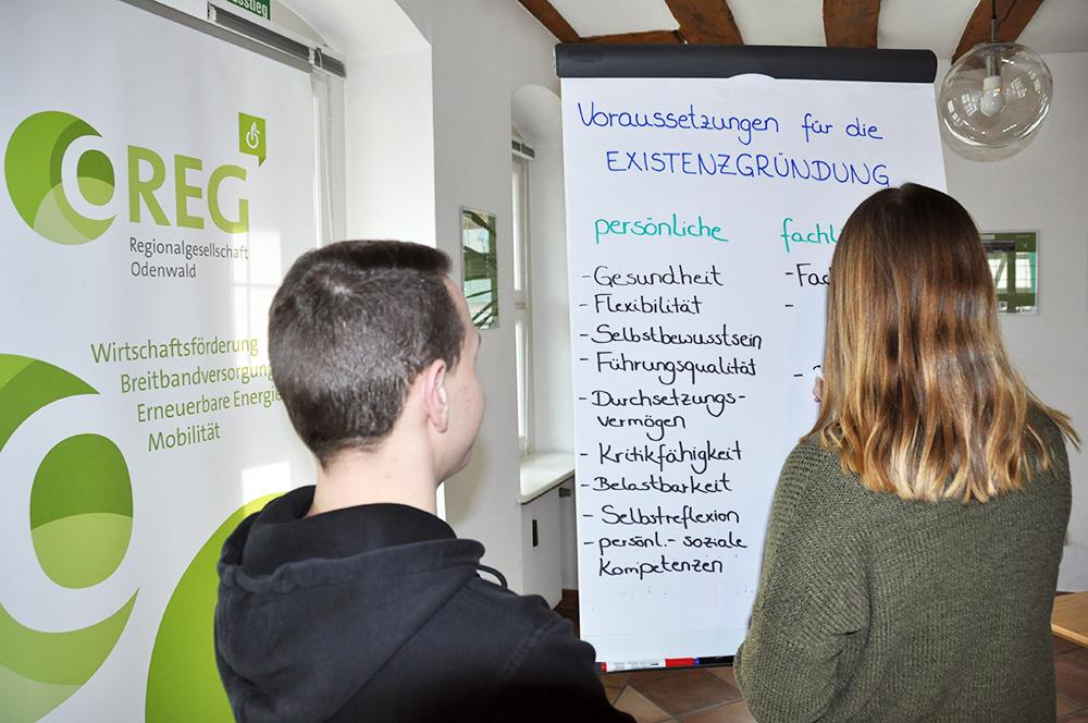 Odenwaldkreis als Gründerregion bestätigt