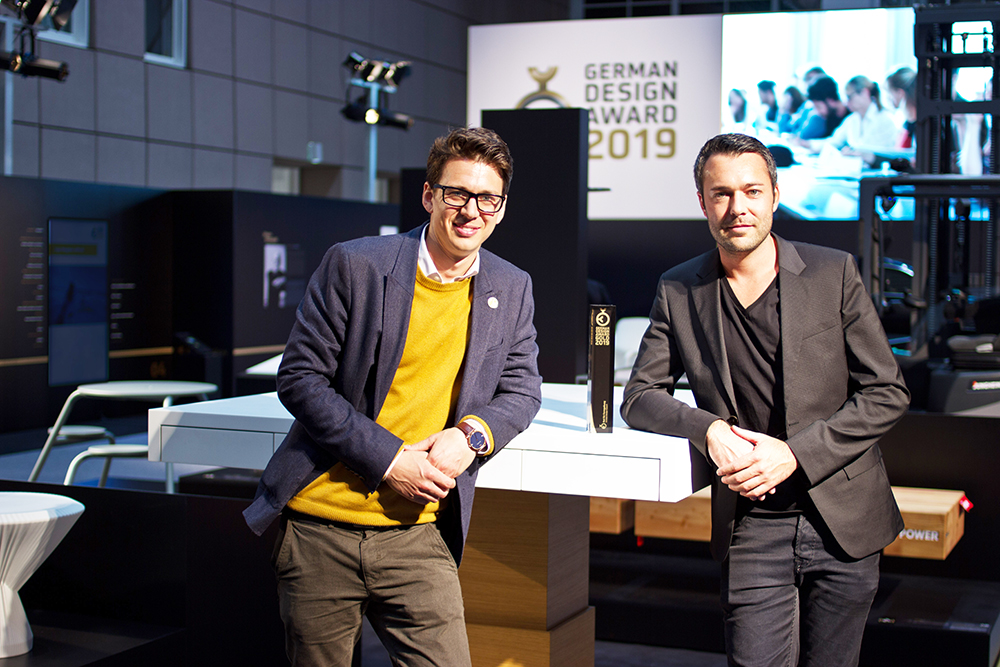 Odenwälder Unternehmen räumen beim German Design Award ab