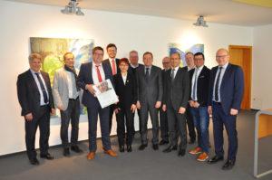 Hermann-Braun-Gedächtnis-Preis 2018  geht an drei Unternehmen in der Region