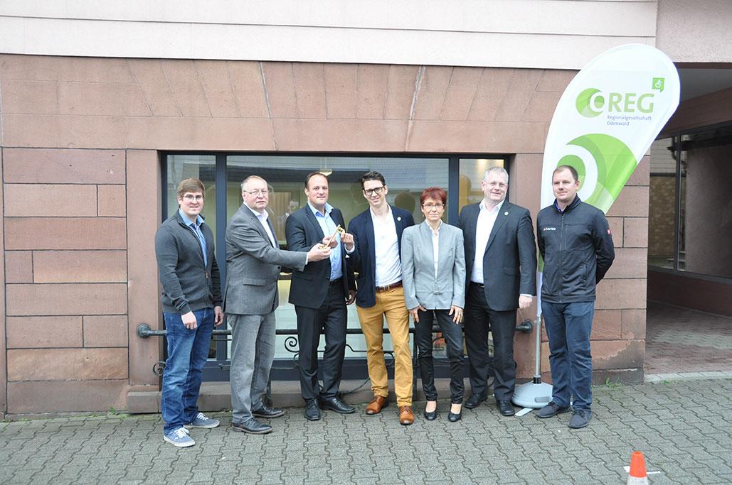 Wirtschaftsförderung Oberzent bezieht eigenes Büro in Oberzent-Beerfelden