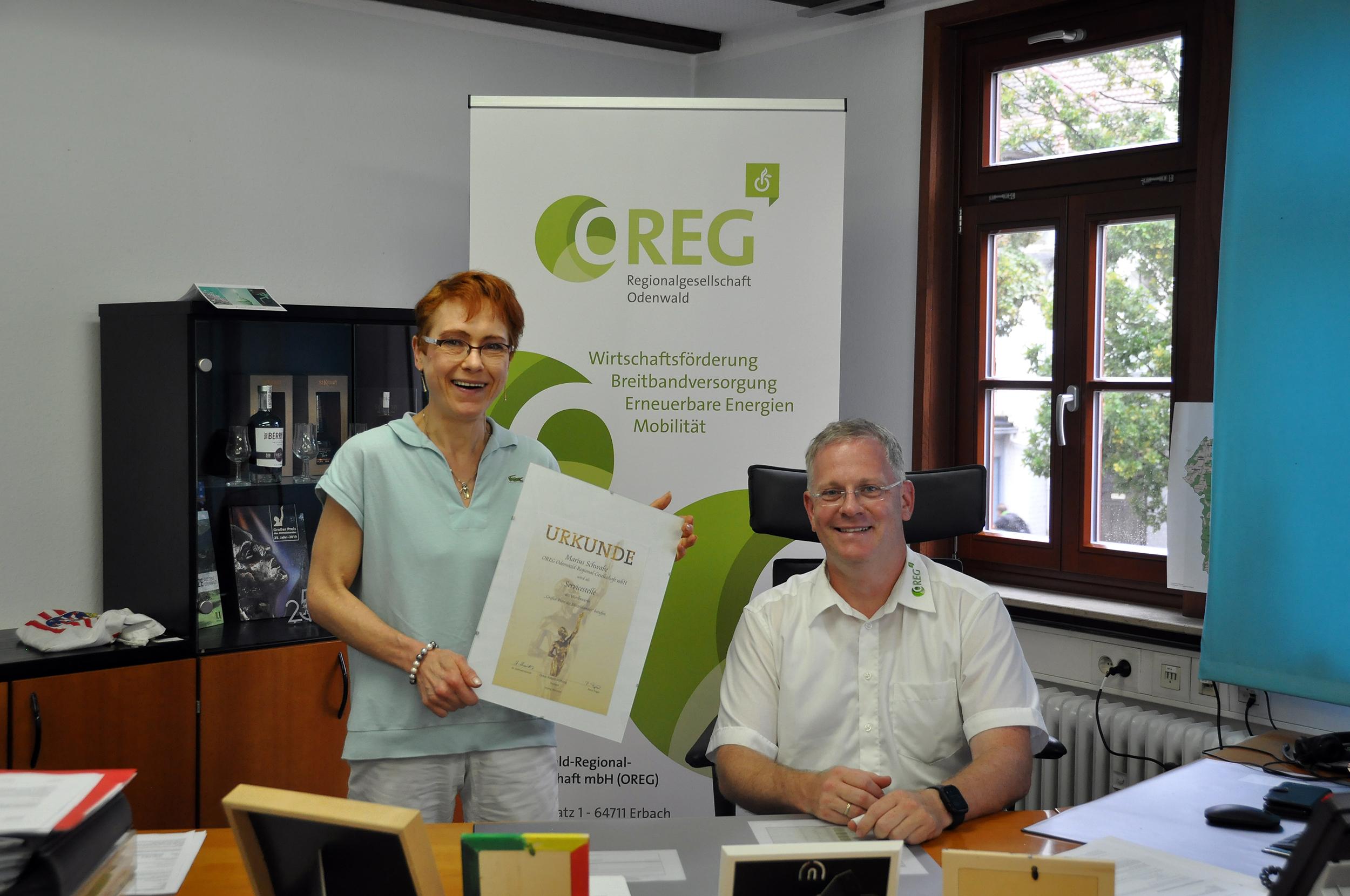 """OREG richtet Hessens erste Servicestelle für den """"Großen Preis des Mittelstandes"""" ein"""