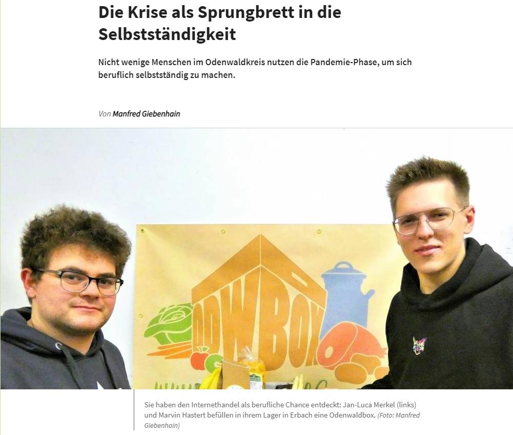 Read more about the article Die Krise als Sprungbrett in die Selbstständigkeit